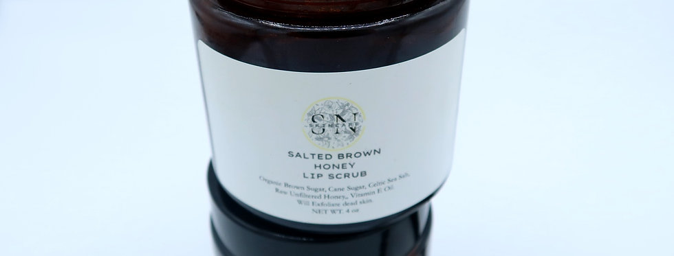 Salted Brown Honey Lip Scrub
