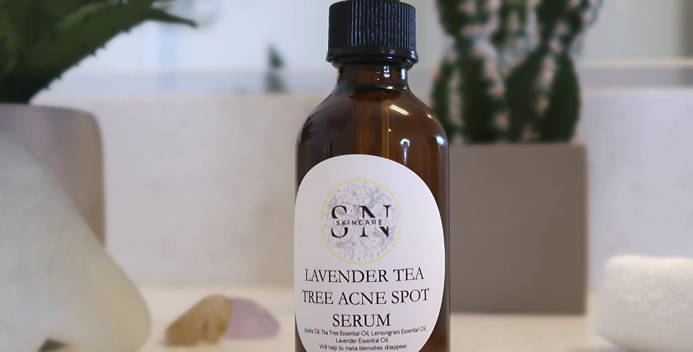 Lavender Tea Tree Acne Spot Serum