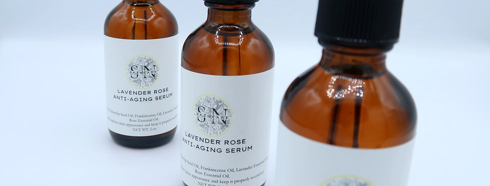 Lavender Rose Anti Aging Serum