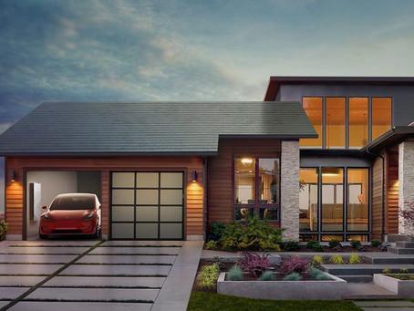 Tesla Solar Roof แผ่นหลังคาที่สามารถผลิตพลังงานไฟฟ้า