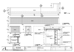 aidesign แบบก่อสร้างงานตกแต่งภายใน แบบรายละเอียดการสร้างเฟอร์นิเจอร์ furniture detail final interior