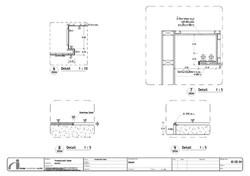 aidesign แบบก่อสร้างงานตกแต่งภายใน แบบรายละเอียดงานตกแต่งภายใน  typical detail final interior workin
