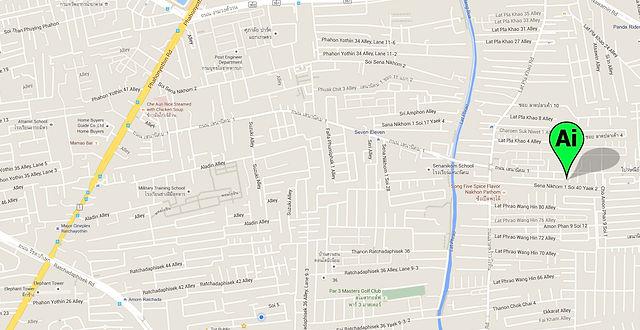 aidesign map บริษัทออกแบบตกแต่ง