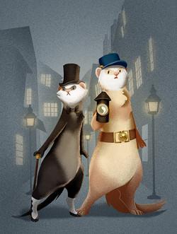 Dr Ferretson & Inspector Fudge