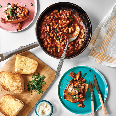 Recipes We Love: Weeknight Beans on Toast