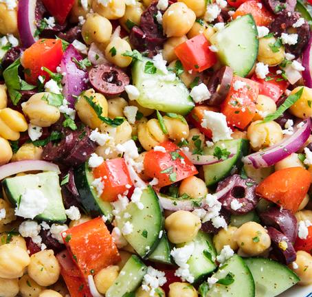 Recipes We Love: Mediterranean Chickpea Salad