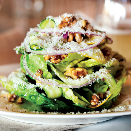 Recipes We Love: Little Gem Salad with Lemon Vinaigrette