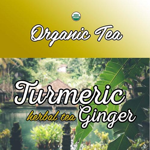 Turmeric Ginger Herbal Tea