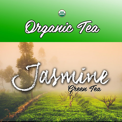 Organic Jasmine Green Loose Leaf Tea