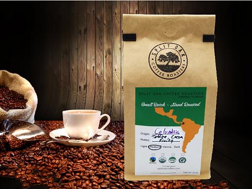 Colombian Coffee Whole Beans Medium Roast-Premium 12oz