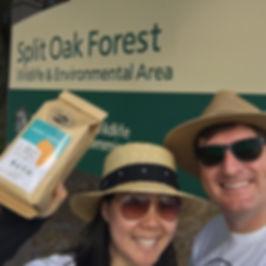 Walter and Tenten at Split Oak Forest.JP