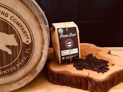 Limited Edition Organic Bourbon Barrel Coffee