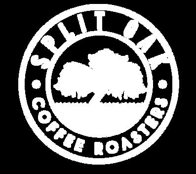Split Oak Coffee Roasters Logo, organic coffee, craft coffee