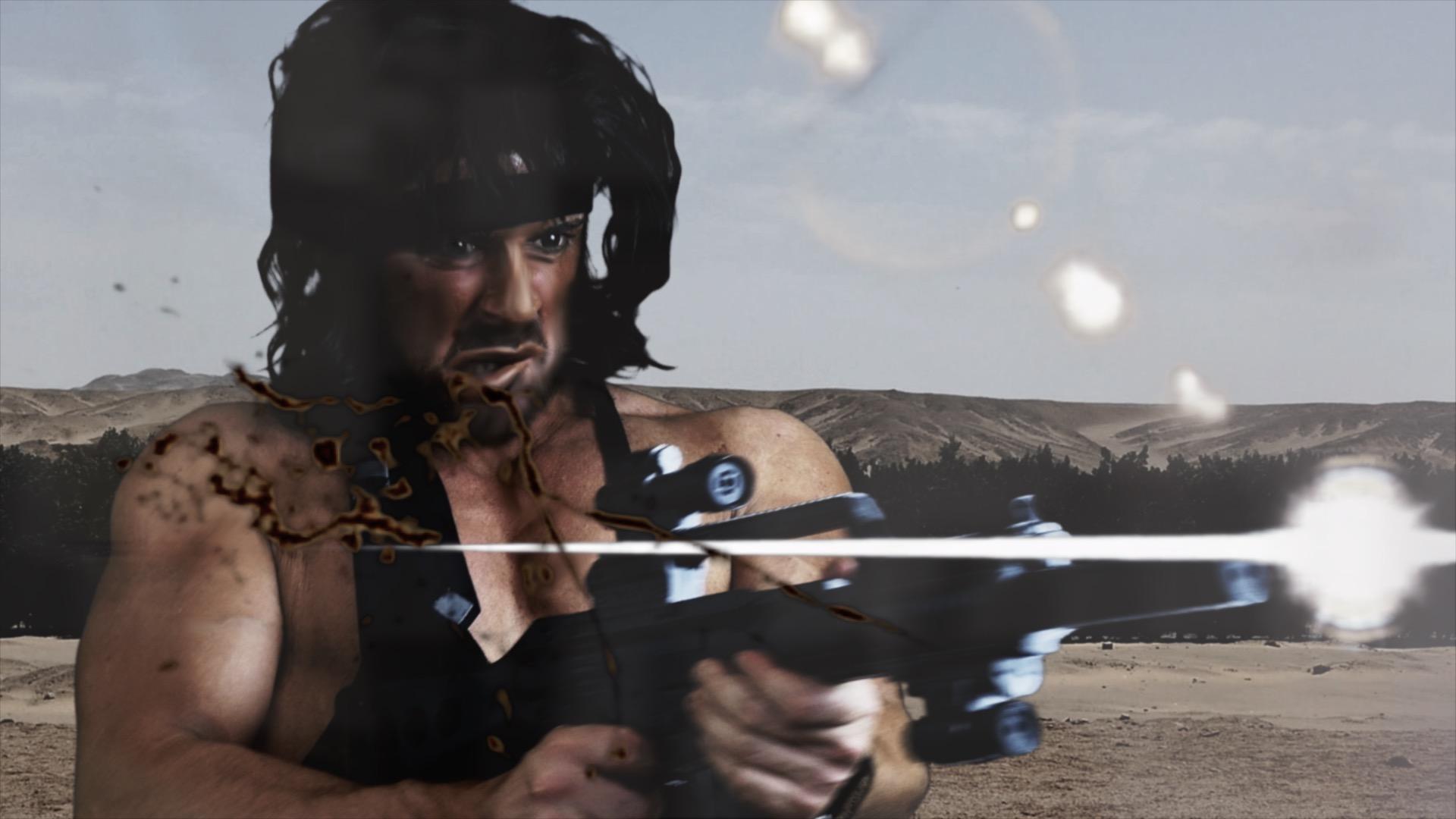 Rambo Machine gun image 1