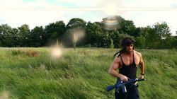 Rambo far machine gun 2
