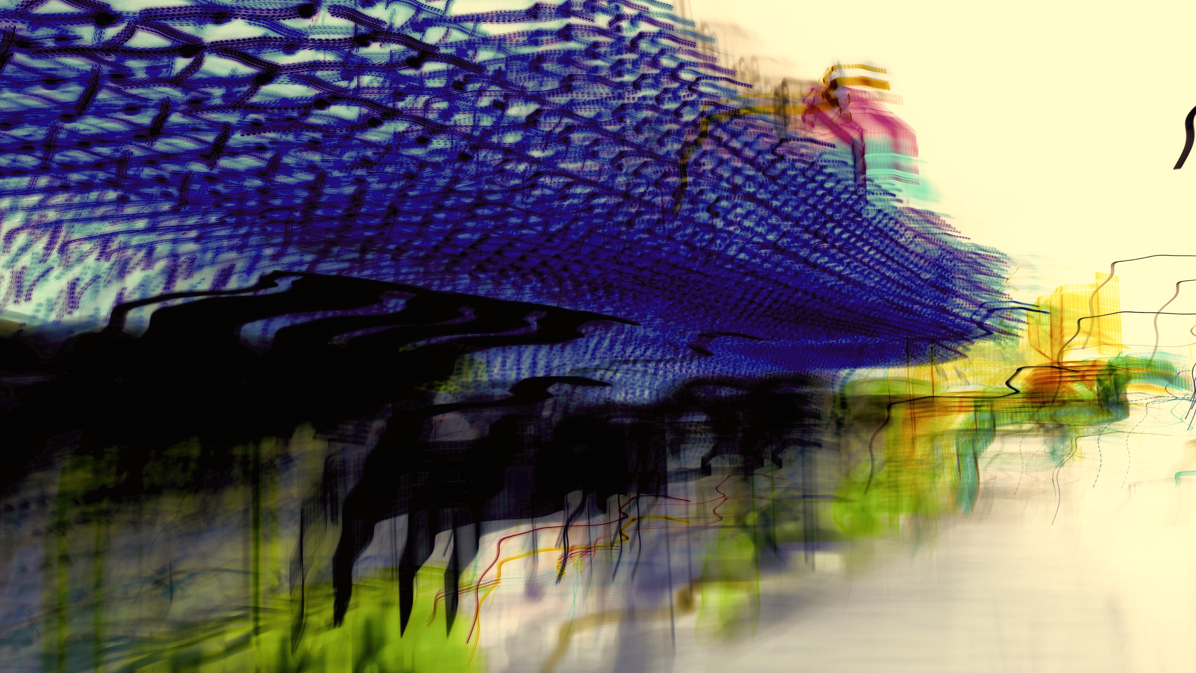 Arcade Abstract Image 1