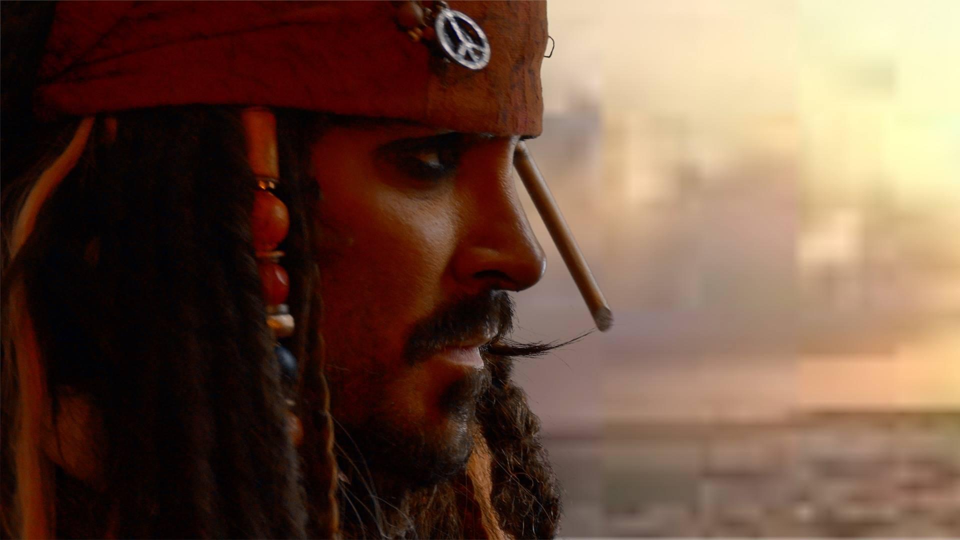 Jack Sparrow Impersonator