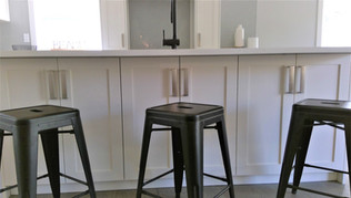 Lakehouse kitchen island