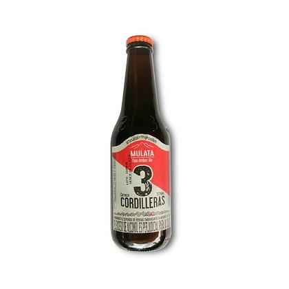 Cerveza 3 Cordilleras Mulata 330ml