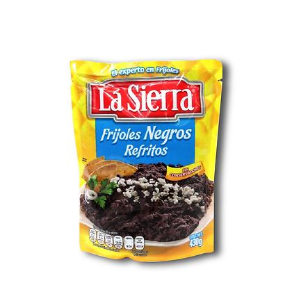 Frijol Refrito Negro Pouch X 430 gr