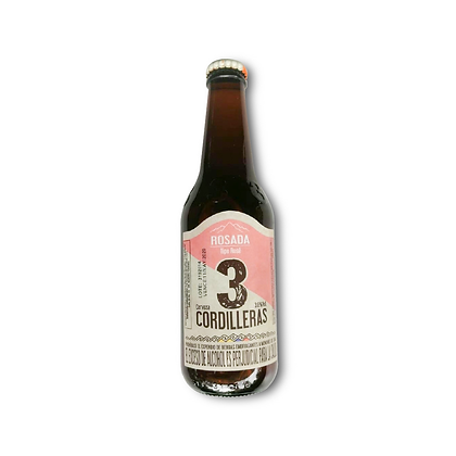 Cerveza 3 Cordilleras Rosada 330ml