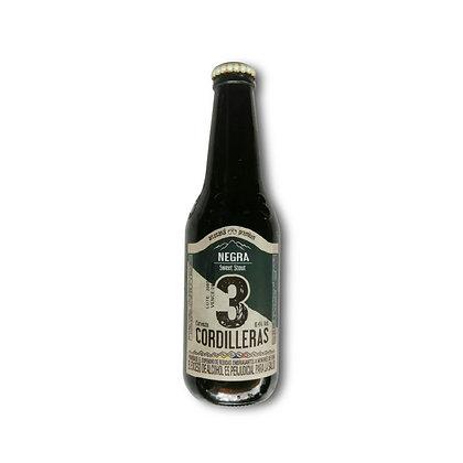 Cerveza 3 Cordilleras Negra 330ml