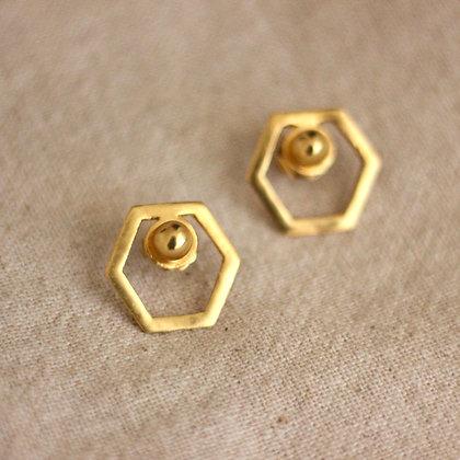 Arah top earrings