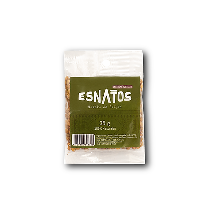 Lentejas tostadas Esnatos 35 gr