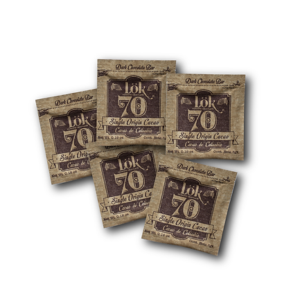 Chocolate Lok 70% FivePack