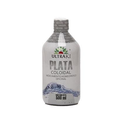 Plata Coloidal Homeopatica x 500 ml
