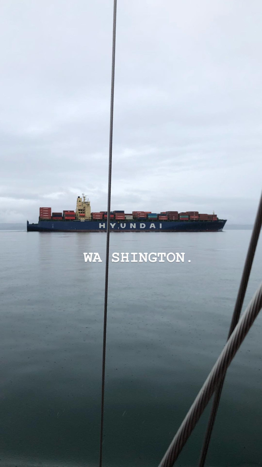 Sailing to Port Townsend (Shot on iPhone X)