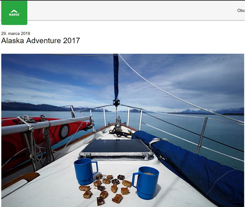 Marva Bar writes about our adventure to Alaska