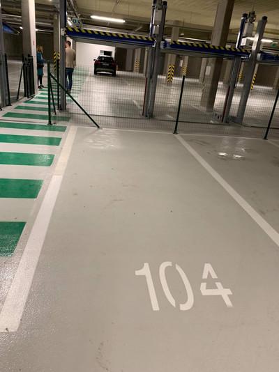 Private Underground Parking