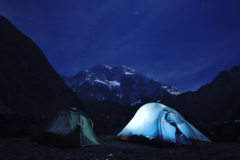Salcantaypampa Camp #1 @ 4,150M