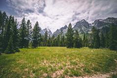 Grand Tetons - Jenny Lake Lodge View