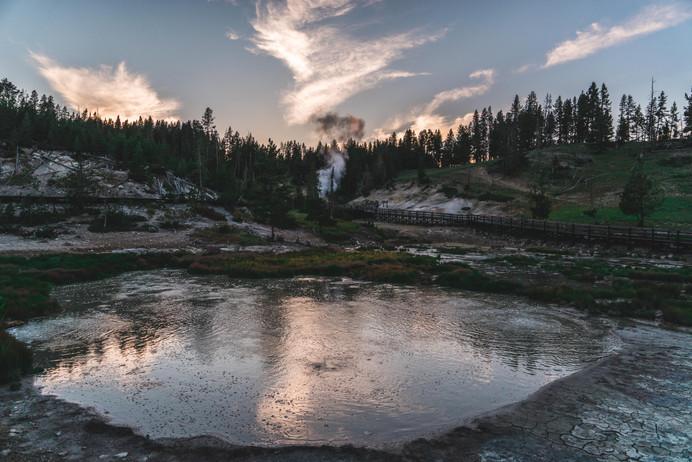 Dragon Mouth Spring - Yellowstone