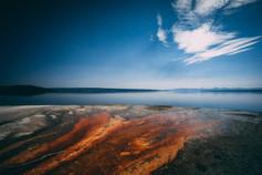 West Thumb Geyser Basin - Yellowstone