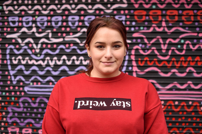 Bianca – Resident of The Liberties – From Romania, Owner of Bounce Back Cafe, Thomas Street