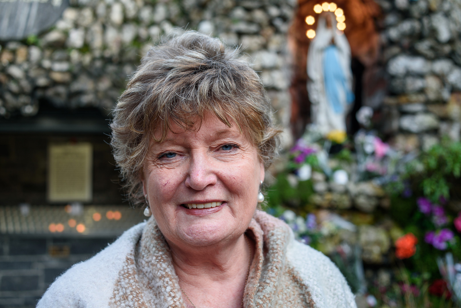 Joyce Reid, Resident of The Liberties, Meath Street Grotto – St. Catherine's Church