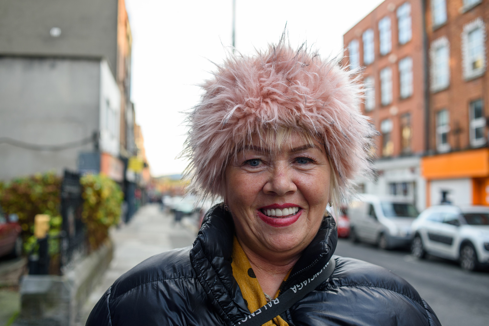 Deirdre – Resident of The Liberties, Regularly helps at The Little Flower, Meath Street