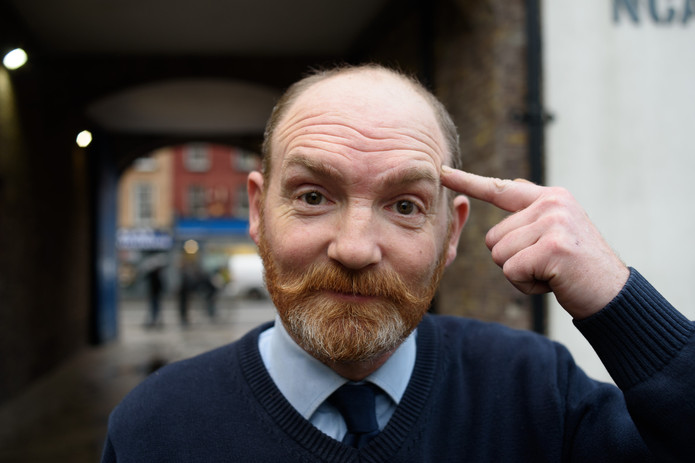 Ciarán Farrell, Attendant at NCAD for 15 years