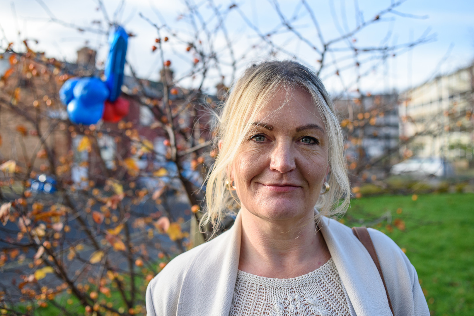 Sandra Kelleher,Resident of The Liberties, Shannon's Hopeline, Meath Street