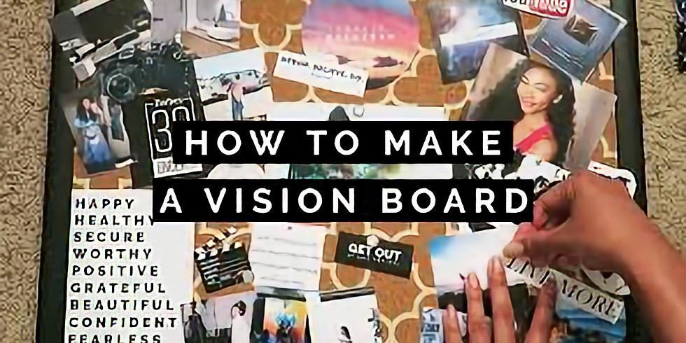 Vision Board Workshop with Joanna