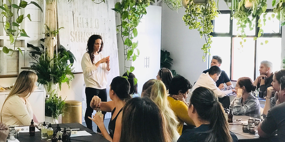 Craft + Foster Candle Lab Workshop - $50 ticket includes wine and appetizer (1)