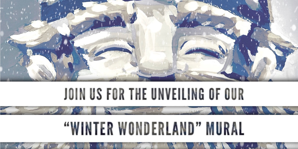 "Meet the artist Matthew Perdoni and the ""Winter Wonderland"" mural"
