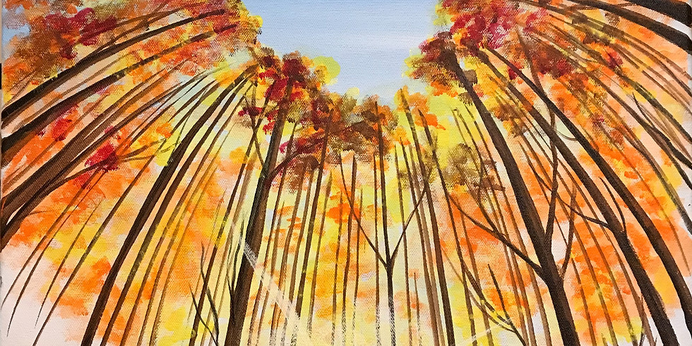 """Sip & Paint with Susie """"Nature's Heart"""""""