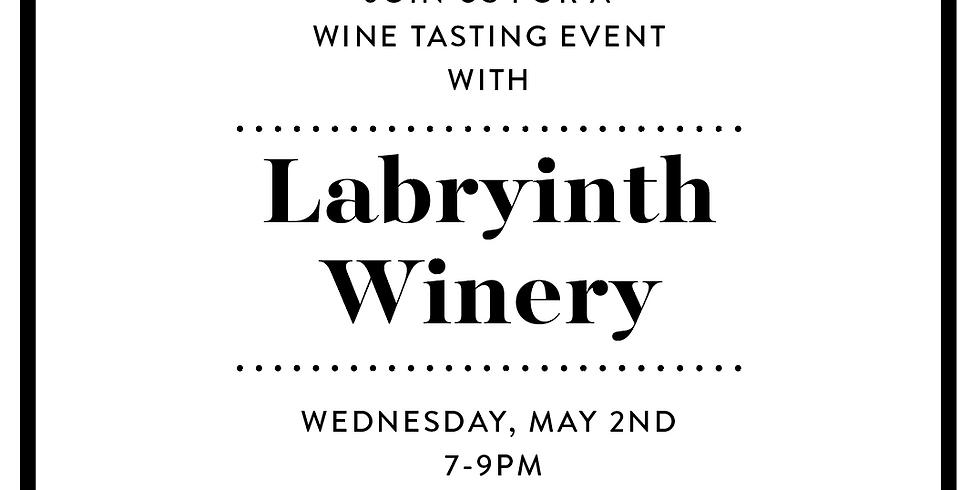 Labyrinth Wine Tasting Event