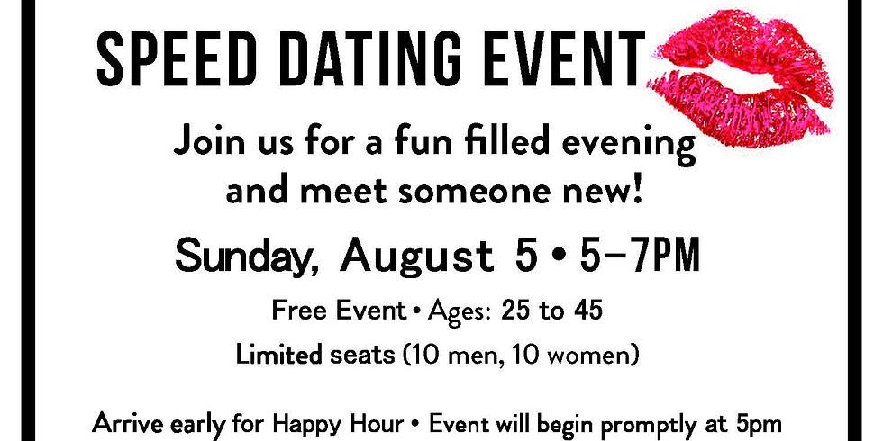 Oak & Elixir Speed Dating Event (Ages 25 - 45)