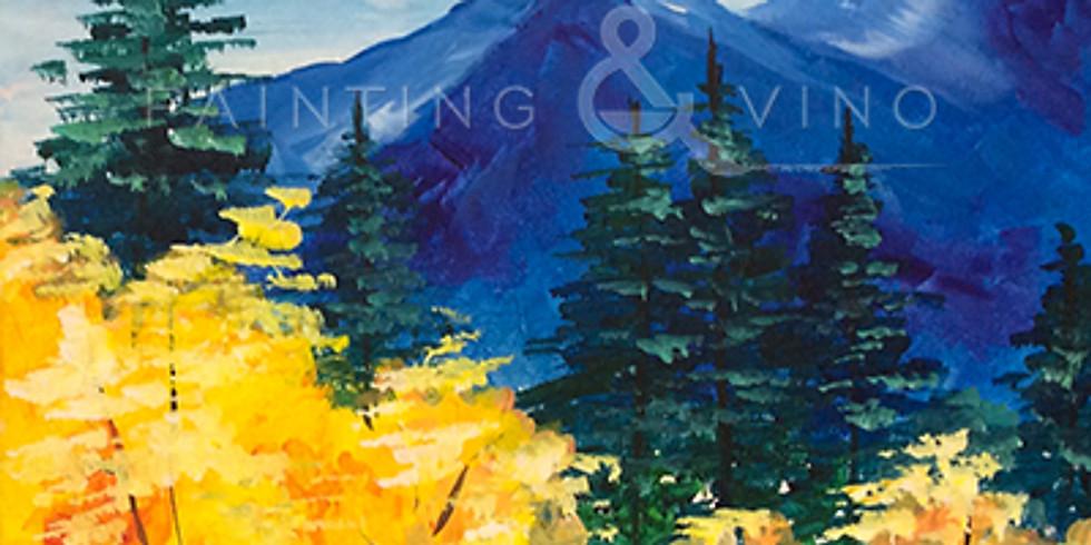 "Painting & Vino with Susie ""Autumn Gold""  Register at paintingandvino.com"