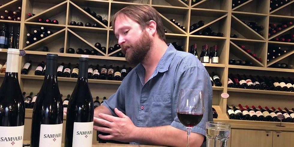 Award Winning Winemaker Matt Brady Samsara Tasting Event